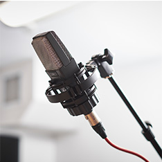 microphone for performing arts
