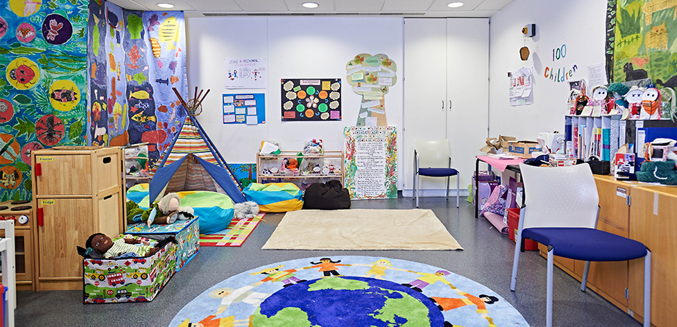 Early Years Resource and Research Room, William Harvey Building