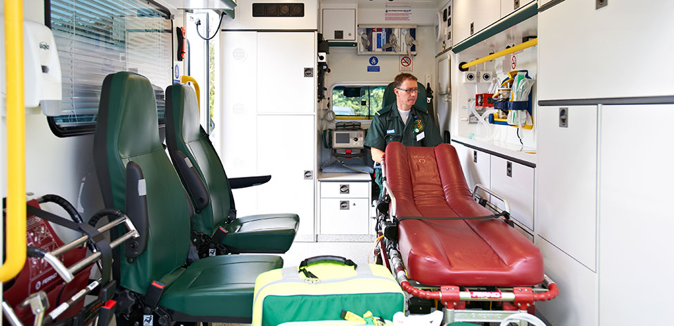 Ambulance Placement - Paramedic Science