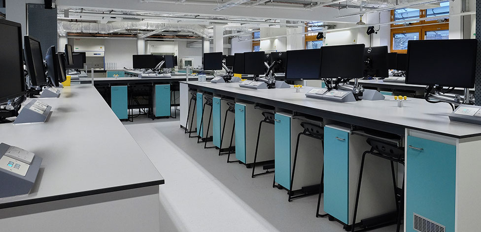 Superlab with 80 station capacity at Chelmsford
