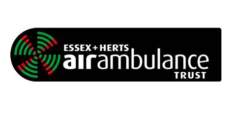 logo of Essex + Herts Air Ambulance Trust