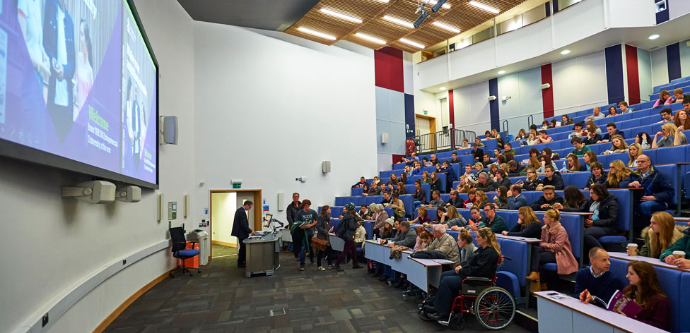 One of our main lecture theatres