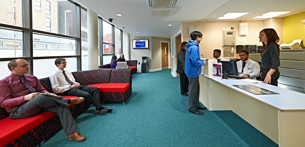 Inside our University Eye Clinic
