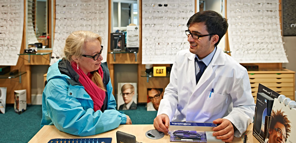Our campus eye clinic is open to the public