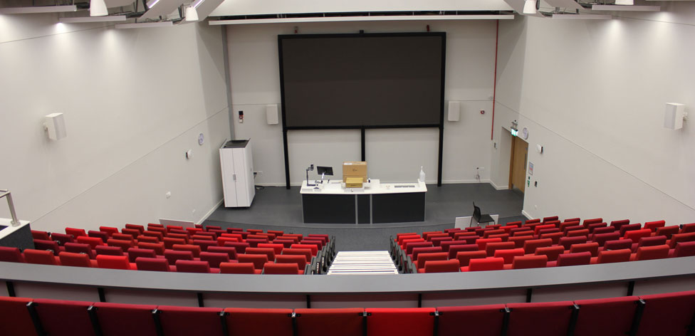 View of Science Centre's 300-seat lecture theatre