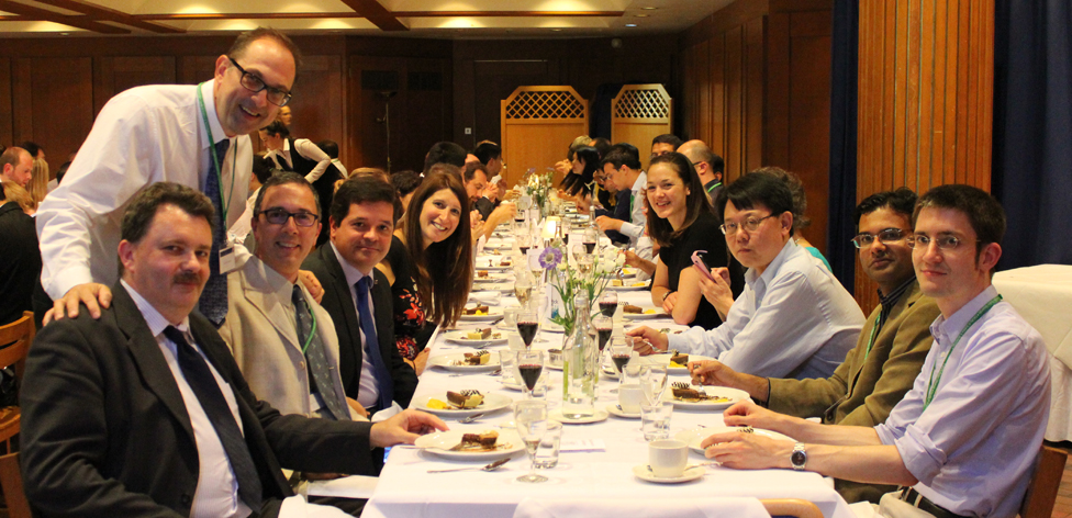 INDIN delegates at the formal dinner