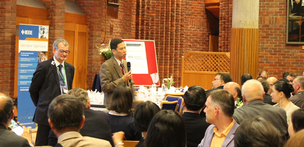 John Hung's after-dinner speech at the formal INDIN dinner