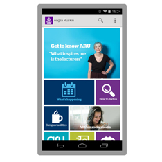 Download our free app - Anglia Ruskin University