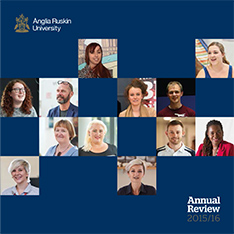 Cover of the Annual Review 2015-16
