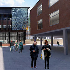 CGI of Science Centre, Anglia Ruskin University