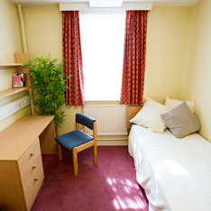Bedroom in Harston House
