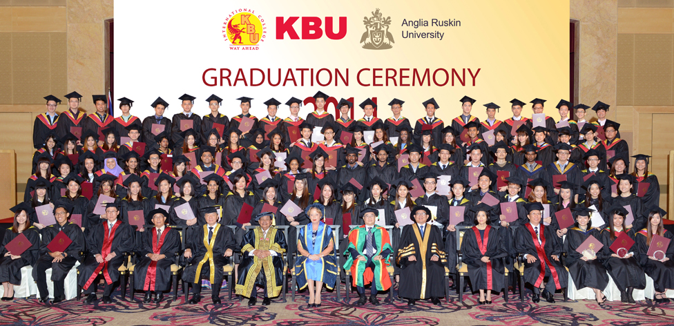 KBU Graduation ceremony