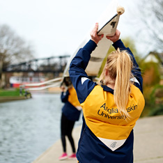Rowing in Cambridge