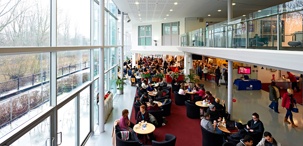 Cafe on our Chelmsford campus