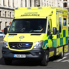 Ambulance in London
