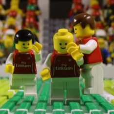Lego Arsenal players