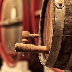 A beer barrel