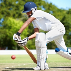 Cricketers are better off batting the