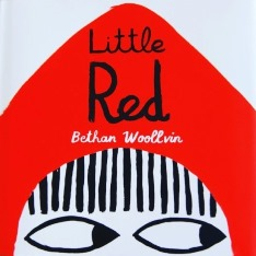 The front cover of Little Red by Bethan Woollvin