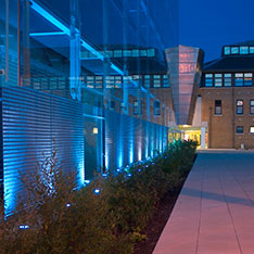 Lord Ashcroft Building, Chelmsford at Night