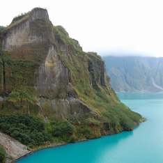 Mount Pinatubo on the Philippines island of Luzon