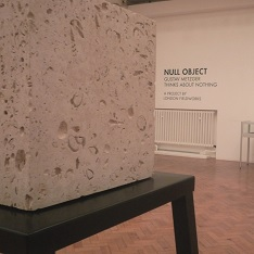 Null Object by Gustav Metzger