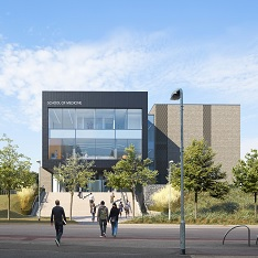 Artist's impression of the School of Medicine building