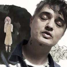 Peter Doherty in the video for his new single